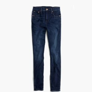 """Madewell 10"""" High Rise Skinny Jeans 31TL Hayes"""